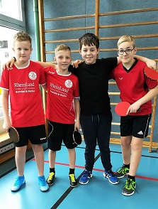 VfB TT-Jugend erfolgreich
