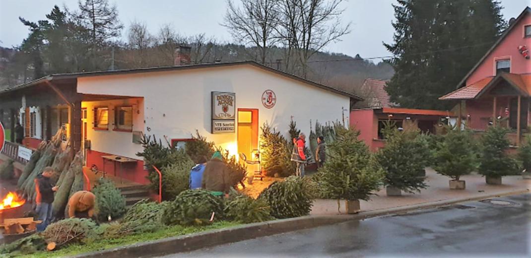 Weihnachtsbaumverkauf – Samstag, 12. Dezember !!!